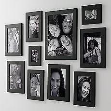 wooden multi picture frame