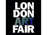 London Art Fair Tickets x 2 VIP rrp £80 quick sale £30 ono