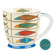 Large Fine Bone China Mugs