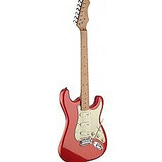 Stagg SES50M-FRD S Series Vintage Electric Guitar -Red with free carry bag
