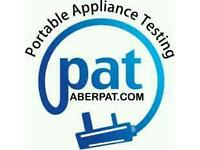 PAT Testing.Portable Applience Testing.