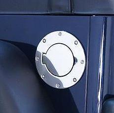 Non-Locking Gas Cap Door SS Wrangler 07-10