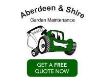 ABERDEEN & SHIRE GRASS CUTTING / GARDEN MAINTENANCE SERVICES - GARDENERS IN ABERDEEN - FREE QUOTES!
