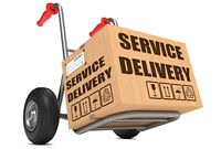 Delivery services in the Niagara area to all of Ontario