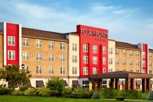 Certificate of 1 night stay in Four points by Sheraton Moncton