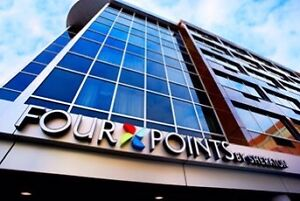 1 night stay at Sheraton Four Points hotel in Halifax