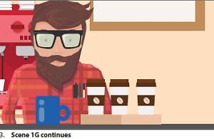 Looking for actor - male hipster barista type ($250 flat rate)