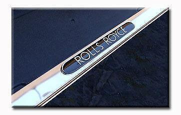 rolls royce license plate ebay. Black Bedroom Furniture Sets. Home Design Ideas