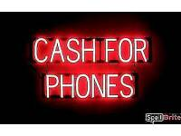 Wanted: Old smart phones for cash