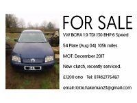 VW BORA 1.9TDI 130BHP