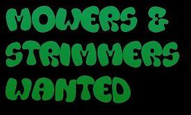 Gardening Equipment Wanted