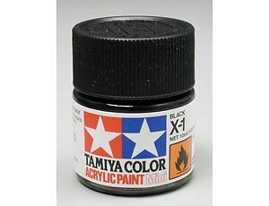 Tamiya Acrylic Gloss Paints (10ml)  Choose colours X-01 to X-28