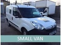 Small vans from £22 per day!