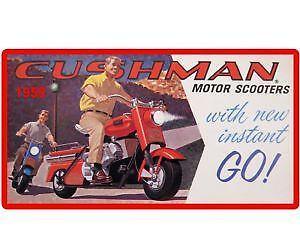 Cushman Scooter Ebay