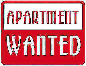 Looking for a 1 or 2 bedroom or townhouse for January 1st.