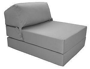 Single Foam Chair Bed