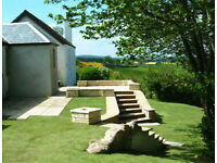 LANDSCAPE GARDENING - Lawns, patios, decking, grass cut