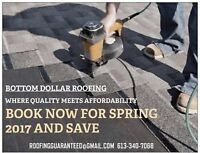 ALL YOUR ROOFING NEEDS AT UNBEATABLE PRICES & GREAT SPRING POMOS
