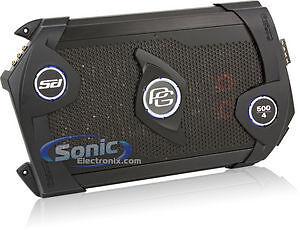 Phoenix Gold RSd 500.4 500 Watt 4 Channel Car Amplifier.