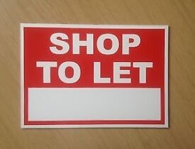 Shop to let in larkhall!