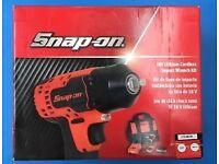 """Snap on 1/2"""" impact gun as new may swap"""