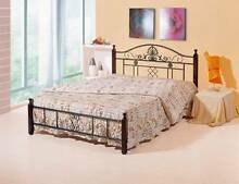 【Brand New】Iron Bed Frame + Bonnel Spring Mattress Springvale Greater Dandenong Preview