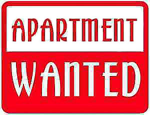 Wanted  Apartment