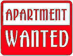 Young working couple looking for a one bedroom apartment