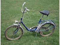 rare Valenti folding bike project