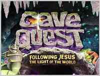 Rock of Ages Church Vacation Bible School CAVE QUEST!