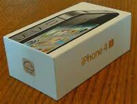 NEW APPLE IPHONE 4S BOX - BUY EMPTY OR WITH ACCESSORIES