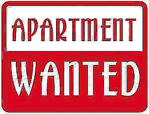 Looking for an apartment/house