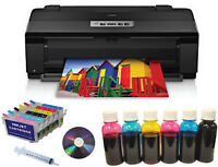13x19 Epson 1430 Printer+refil+Dye Bulk Ink,Pigment,Sublimation
