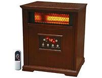 LifeSmart Electric Infrared Quartz Heater LS-1001HH , New