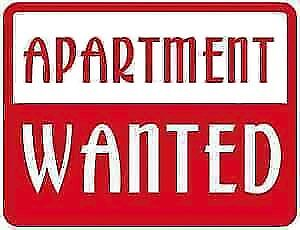 NEED APARTMENT A.S.A.P.   NEED HEALTHIER ENVIRONMENT