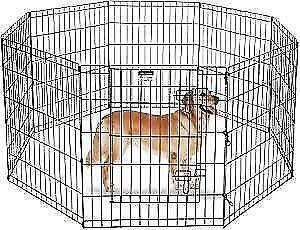 Large wire indoor outdoor dog play pen for sale $50