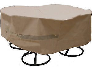 Hearth & Garden Round Table & Chair Set Cover, New