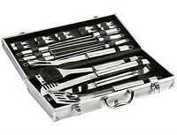 Master Craft 21-pc. Stainless Steel BBQ Tool Set, New