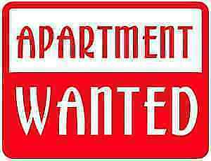 URGENTLY NEEDED:  APARTMENT FOR SEPT. 1st.