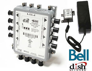NEW BELL EXPRESS V DPP44 SWITCH W/ POWER INSERTER DISH PRO PLUS