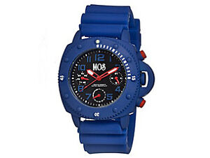 2 Brand New, MOS New-York Men's Watches (Blue and Black)