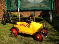 Pedal Car - Yellow, Brum!