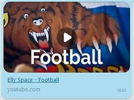 Elly Space: Football (MP3) - Song dedicated to the Football World Cup