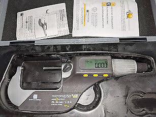 Brown Sharpe 599-126 Digital Micromaster Outside Micrometer Ip54 1-225-50
