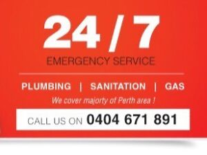 All areas 24/7 plumbing and gas Victoria Park Victoria Park Area Preview