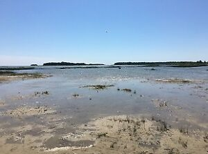 Waterfront lot on Fishing Islands, 10 km  north of Sauble Beach