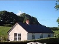relax and unwind in self catering bungalow on Devon /somerset border,beautiful views,peaceful,