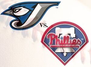 WTB 4 tickets for August 26 Blue Jays vs Phillies