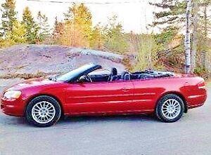 Sebring Convertible ou décapotable 2006