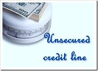Unsecured Line Of Credit to $25,000! No Income verification!!